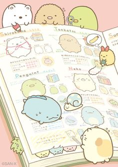 Sumikko gurashi with giant book
