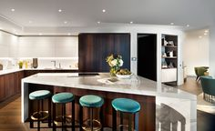 The unveiling of the Riverwalk by Stanton Williams made a splash last month, when we visited the curvaceous new luxury residential development's rare waterside location. Now, the scheme's second phase is revealed, with the completion of the penthouse i...