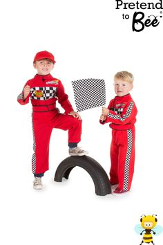 details about boys kids red formula 1 car racing driver costume overalls outfit age 2 3 5 7