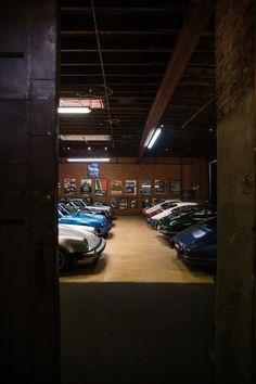 Magnus Walker's lair.