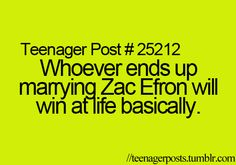 Teenager Posts Yes. And millions of girls will be devestated