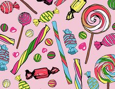 """Check out new work on my @Behance portfolio: """"Sweets Seamless Print Patterns"""" http://be.net/gallery/38227207/Sweets-Seamless-Print-Patterns"""