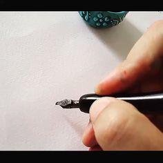 Calligraphy Worksheet, Calligraphy Tutorial, Calligraphy Drawing, Hand Lettering Tutorial, Calligraphy Handwriting, Calligraphy Letters, Copperplate Calligraphy, Calligraphy Quotes, Caligraphy