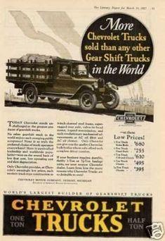 Chevrolet Truck Color (1927)