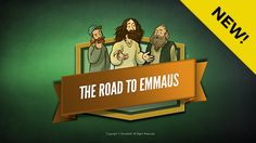 Luke 24 Road to Emmaus Kids Bible Lesson: The amazing Road to Emmaus kids Bible story (Luke 24:13-35). Following the crucifixion, two men are on a 7 mile journey to the village of Emmaus discussing the death of Jesus. Unexpectedly Jesus joins their conversation explaining that the Old Testament had long predicted the Messiah's death and resurrection! The Road to Emmaus lesson is packed with digital resources and is perfect for your upcoming Sunday school class.