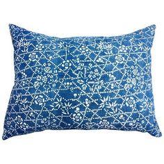 Antique Chinese Indigo Batik Pillow ($225) ❤ liked on Polyvore featuring home, home decor, throw pillows, floral home decor, indigo blue throw pillows, indigo home decor, indigo throw pillows and floral throw pillows
