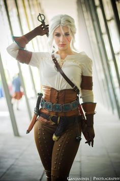 Heiress – Ciri cosplay by Soylent-cosplay on DeviantArt – The Witcher Series Moda Steampunk, Steampunk Fashion, Belle Cosplay, Cosplay Outfits, Cosplay Girls, Ciri Cosplay, Cosplay Characters, Warrior Girl, Looks Chic