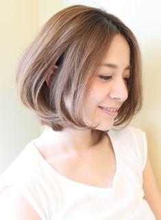 【ボブ】30代・40代に人気、大人ボブ/Reunaの髪型・ヘアスタイル・ヘアカタログ|2016秋冬