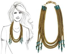 100 Chic Statement Necklaces - These Glam Accessory Pieces Transition from Day to Evening