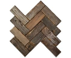 Reclaimed barn-wood style backsplash tile. herringbone-2x6-natural.jpg