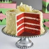 RED VELVET CAKE http://www.foodnetwork.com/recipes/paula-deen/grandmother-pauls-red-velvet-cake-recipe/index.html