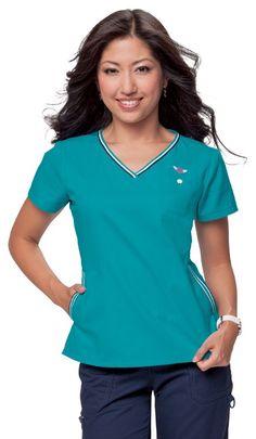 e60617ef7b5 koi Classics Uniform City, Uniform Advantage, Scrub Tops, Medical Scrubs, V  Neck
