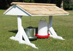 chicken feeding station - Google Search