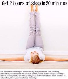Relaxation pose -- for when you are feeling tired/sluggish