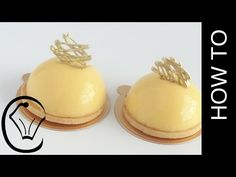 Lemon Curd Tart Dome Entermet by Cupcake Savvy's Kitchen - YouTube
