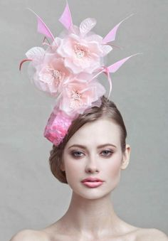 Pink Pillbox Fascinator~♛