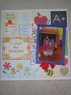 Creative Corner- preschool graduation