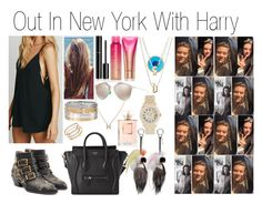 """""""Out In New York With Harry"""" by kalifornian-kiss ❤ liked on Polyvore"""