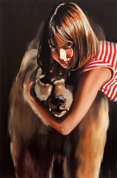The Beast, 2010, oil on treated wood, Shira Glezerman