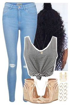 """""""May.25: Summer Has Started"""" by fair-fair ❤ liked on Polyvore featuring New Look, Jeffrey Campbell, Charlotte Russe, ASOS and Joolz by Martha Calvo"""
