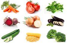 Montessori zelenina k vytištění
