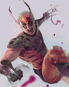 Wolverine by Oscar Romer