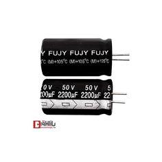 خازن الکترولیتی 2200 میکروفاراد 50 ولت FUJY
