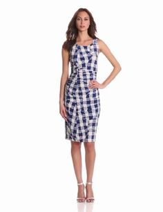 KAMALIKULTURE Women's Shirred Waist Sleeveless Dress:Price: $80.00