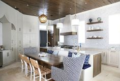 <Kitchen island banquette> Kitchen island banquette. Kitchen island banquette ideas. Kitchen island banquette design #Kitchenislandbanquette Old Seagrove Homes.
