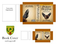 My Froggy Stuff: How to Make a Miniature Harry Potter Book for Dolls : Free Printables