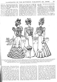 The Glass of Fashion July 1898