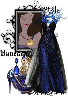 """Disney Style : Vanessa"" by missm26 ❤ liked on Polyvore"