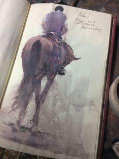 Joseph Zbukvic, sketchbook