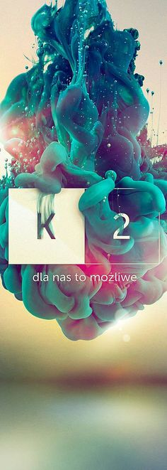 Unique Graphic Design on the Internet, K2 #graphicdesign #poster