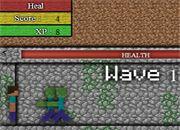 Minecraft Ataque Zombi | juegos minecraft - jugar online