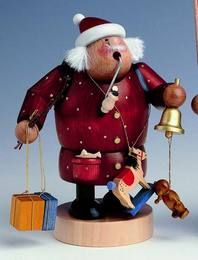 Santa Claus   - German Incense Smoker by KWO Olbernhau