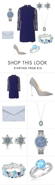 """""""Untitled #270"""" by alltimelow2010 ❤ liked on Polyvore featuring Topshop, Jimmy Choo, Rebecca Minkoff, Armenta, Pandora, GUESS, Avenue and Amanda Rose Collection"""