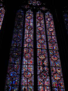 visite des vitraux de la Sainte Chapelle. http://visite-guidee-paris.fr