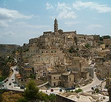Southern Italy with cave dweelings and beach front tavernas & agriturismos!