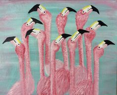 HEADS UP......FLAMINGOS