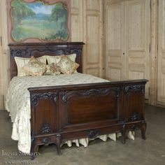 Bon Antique Furniture | Antique Bedroom Furniture | Bedroom Sets | 19th Century  French Walnut Neoclassical Bedroom Set | Www.inessa.com
