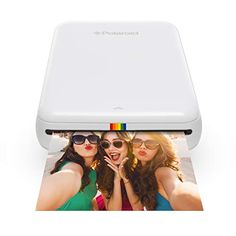 Polaroid ZIP Wireless Mobile Photo Mini Printer (White) Compatible w/ iOS & Android, NFC & Bluetooth Devices : Electronics Best Photo Printer, Mobile Photo Printer, Portable Photo Printer, Iphone Photo Printer, Polaroid Printer, Electronics Projects, Electronics Gadgets, Instant Camera, Technology
