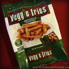 Veggies Fries – Healthy, Quick Meal For The Whole Family! #VeggieFries #IC #AD