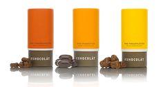 chocolate packaging.