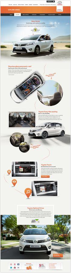 Toyota Verso for Toyota GB by Brandwidth Studio , via Behance