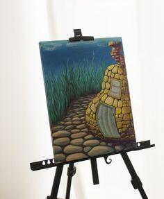 Custom landscape painting custom painting by SweetenYourHome