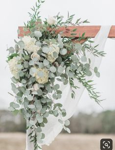 Arbor Corner piece - All White Flowers & Greens - Hydrangeas, .- Arbor Corner piece – Alle weißen Blumen & Grün – Hortensien, Rosen, Eucalytpu Arbor Corner piece All white flowers & green hydrangeas roses Eucalytpu - Wedding Arbors, Wedding Ceremony Arch, Wedding Arch Greenery, Diy Wedding Arch Flowers, White Wedding Arch, Arbors For Weddings, Hydrangea Wedding Decor, Simple Wedding Arch, Wedding Venues