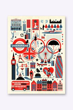 East End Prints - Jeux olympiques de Londres - London