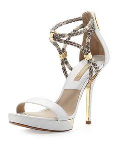 SPRING 2014 - Fariha Braid-Strap Sandal by Michael Kors at Neiman Marcus.
