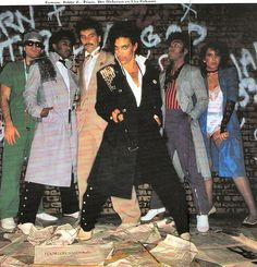 """Prince and the Revolution early """"uptown"""", """"dirty mind"""" years."""